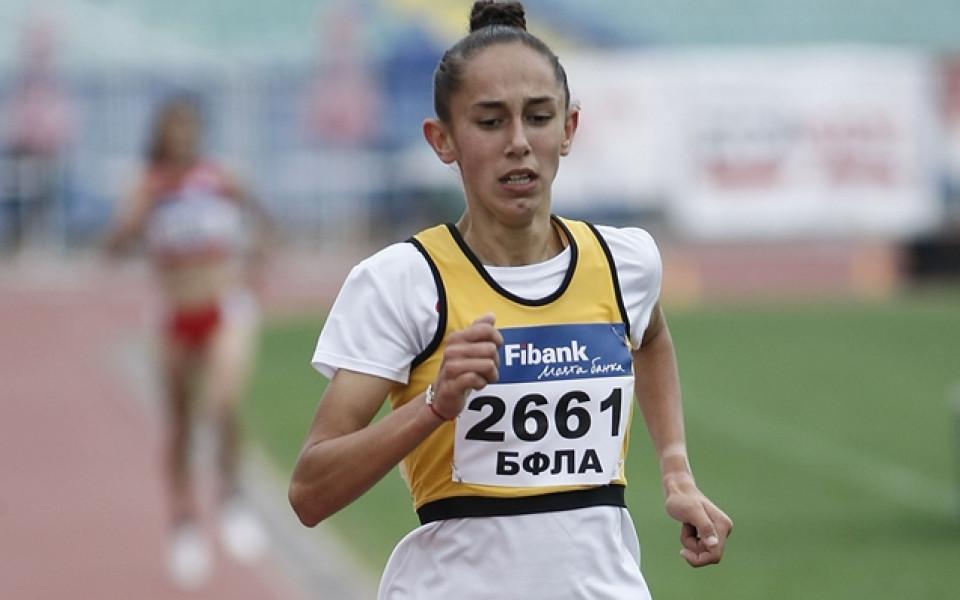 Лиляна Георгиева взе медал на 1500 метра на Европейското