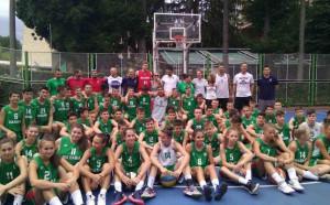 Везенков и Минчев уважиха Националния камп на БФБаскетбол