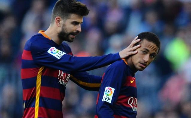 Пике: Неймар нарани Барселона, когато напусна