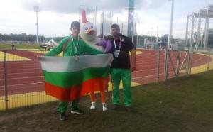 Българин с бронз на Европейския олимпийски фестивал в Унгария