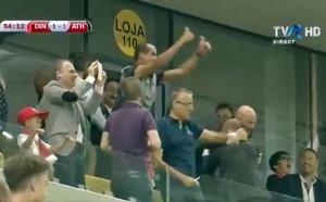 Ривалдо пощуря от кеф след гола на сина си в Букурещ