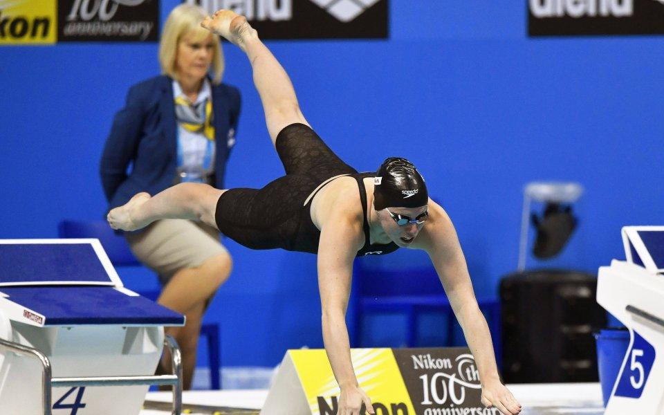 Американка подобри световния рекорд на 50 метра бруст