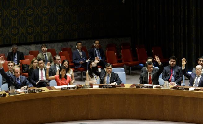 Всичките 15 членове на Съвета за сигурност одобриха резолюцията, налагаща нови строги санкции на Северна Корея.
