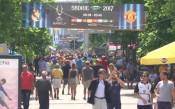 Фенове на Реал и Юнайтед заляха Скопие