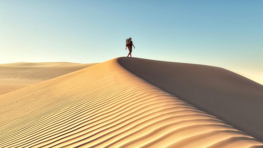 Мъж, подведен от навигация, се оказа сам в пустинята за два дни