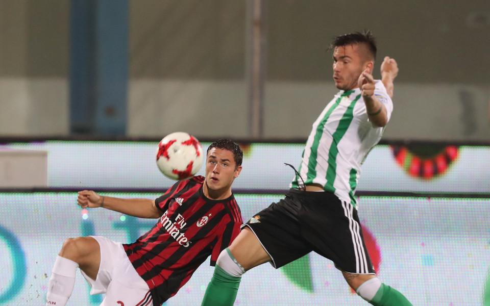 Капитанът Бонучи с фалстарт за Милан