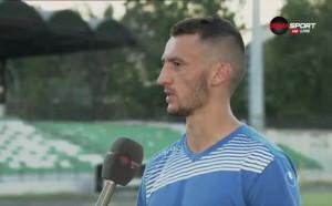 Атанас Зехиров е Играч на Ботев - Черно море