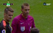 Кейхил с директен червен картон в мача срещу Бърнли