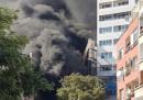 Пожар в Бургас стресна летовниците