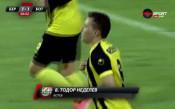 Груба грешка на защитата на Берое, Неделев вкара за Ботев