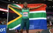 Семеня взе златото на 800 метра на Световното в Лондон