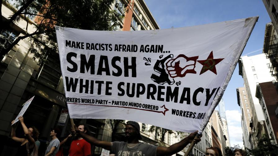 Антирасистка демонстрация в Ню Йорк