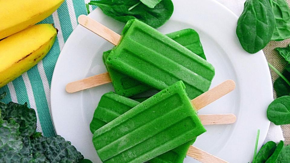 Как да: зелени здравословни сладоледи