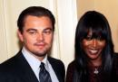 """Верен на любовта си към супермоделите, Леонардо ди Каприо излиза с Наоми Кембъл през 1995 г. Двойката се разделят преди актьорът да получи ролята в """"Титаник""""."""