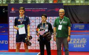 Японци спечелиха при момчета и девойки на Асарел Оупън България 2017