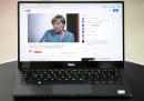 Ангела Меркел по време на ексклузивното й интервю във видеоплатформата