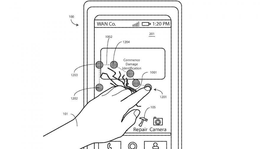 Motorola работи по дисплей, който се лекува сам