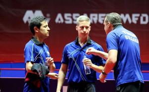 Александров и Коджабашев биха руснаци и благодариха на публиката в Арена Асарел