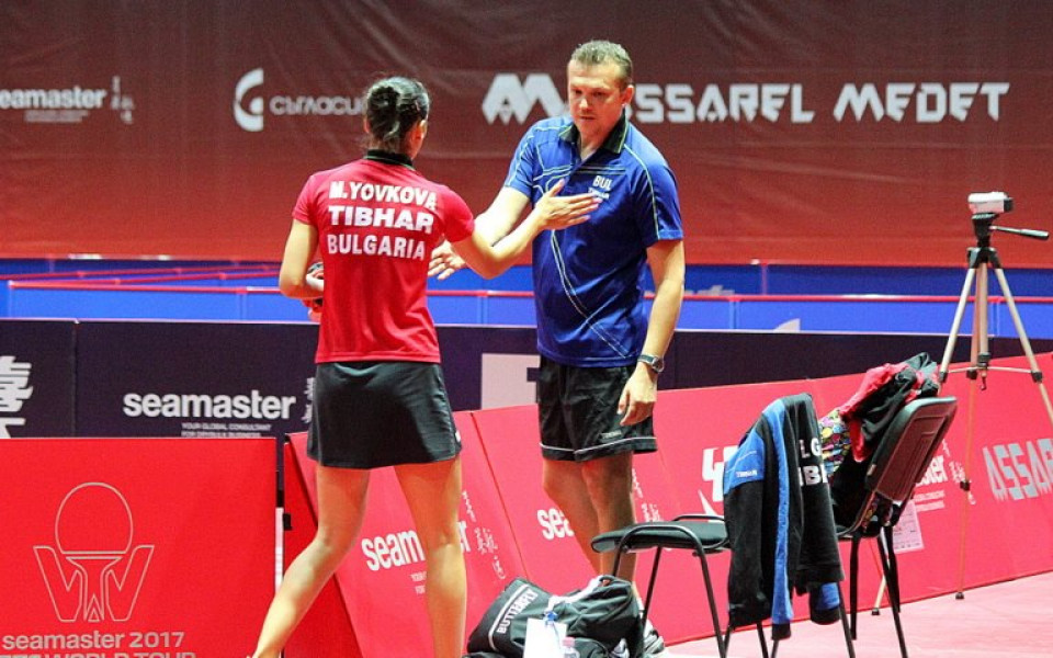 Мария Йовкова игра добре, но загуби от японката спечелила при девойките
