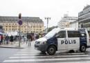 Сцената на предполагаемото ислямистко нападение в град Турку