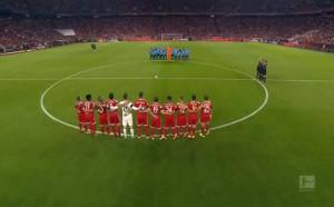 Алианц Арена почете с минута мълчание жертвите от атентата в Барселона