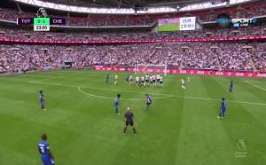 Брилятен фаул и Алонсо поведе Челси срещу Тотнъм