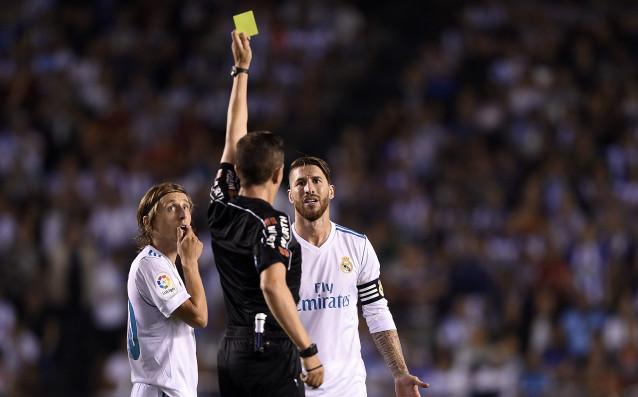 Реал Мадрид обжалва втория жълт картон на Рамос