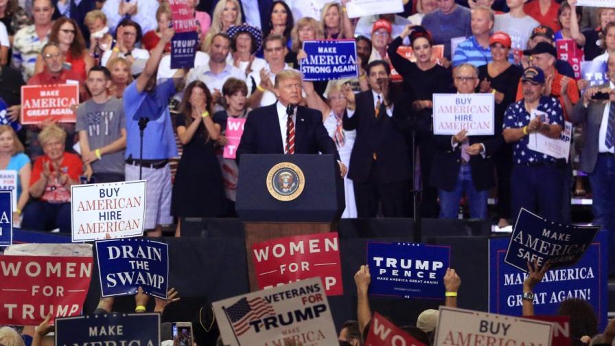 Доналд Тръмп във Финикс