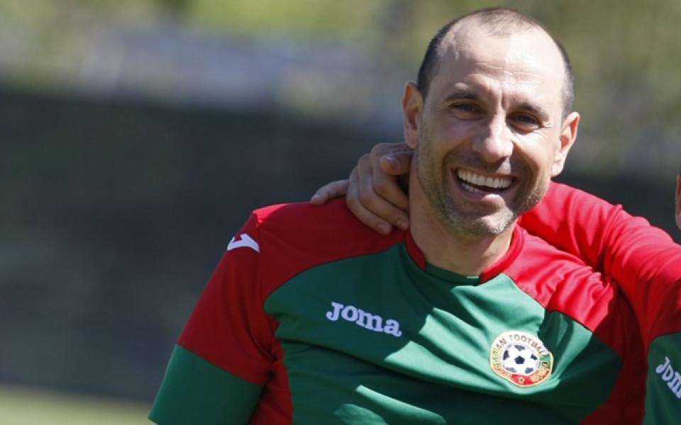 Мартин Петров - гост на представянето на фамилна зона на Националния стадион