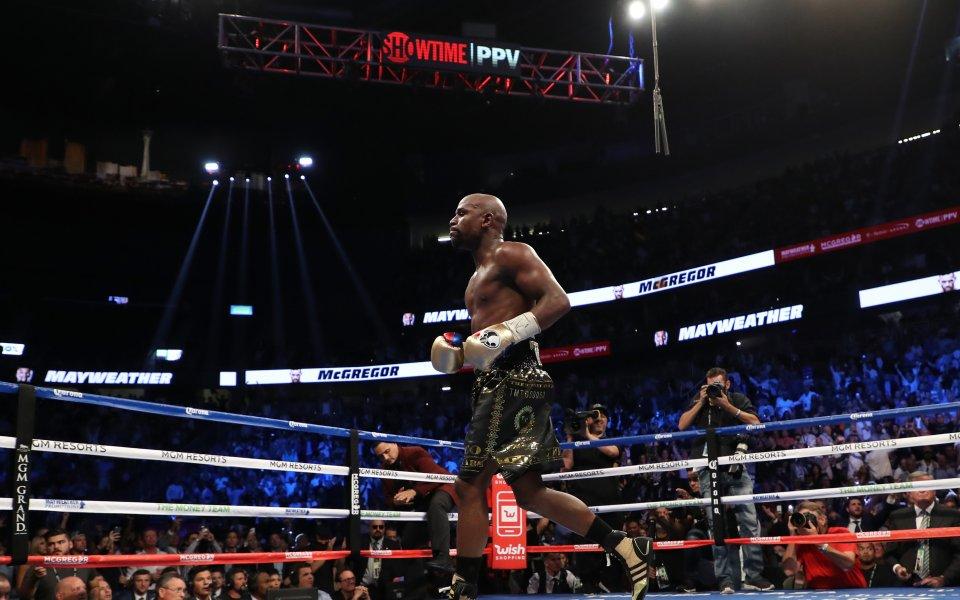 Мигове от боксовото зрелище - Мейуедър VS МакГрегър