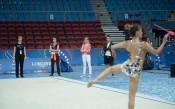 Грациите тренират преди Световното в Пезаро<strong> източник: facebook.com/BGRGfederation, Анна Недкова</strong>