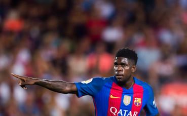 L'Equipe: Оптимистично послание от Барселона за Умтити