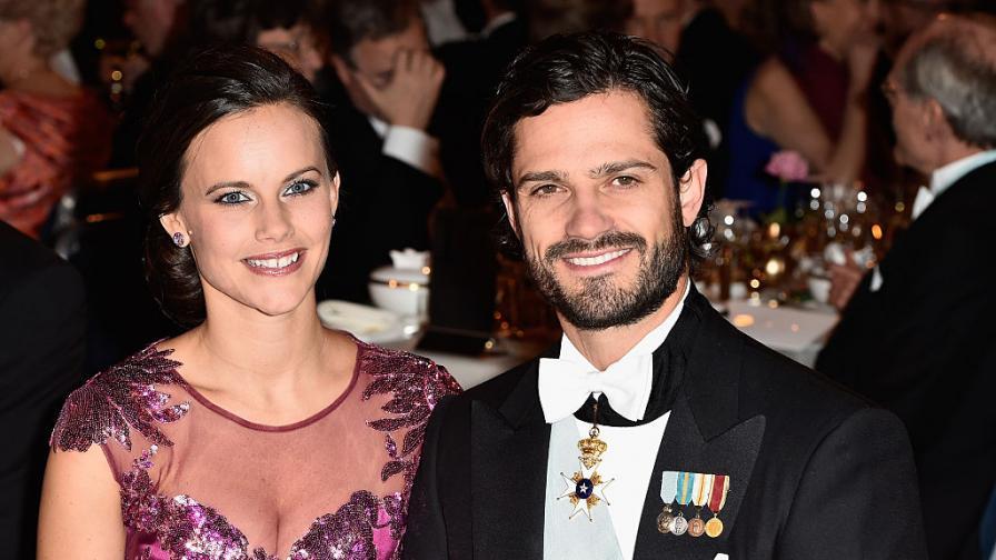 Принцеса София и принц Карл Филип