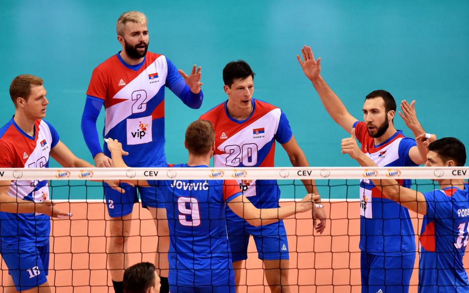 Сърбия за седми път с бронз от Европейско по волейбол