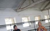 Русев и Лана в Пловдив<strong> източник: twitter.com/LanaWWE</strong>