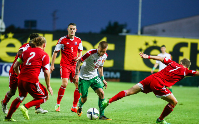 България - Люксембург (младежка европейска квалификация) източник: Любомир Асенов/Lap.bg