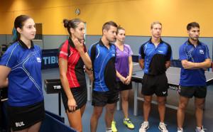 Спортният министър прие националите по тенис на маса