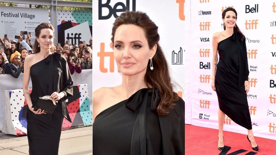 Аджелина Джоли: уроци по стил в Торонто (снимки)