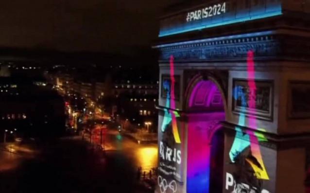 Париж изпадна в олимпийско настроение