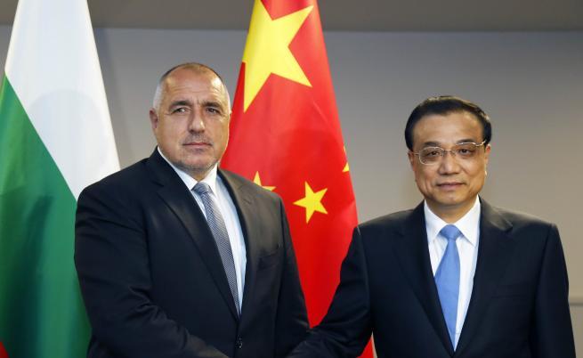 Премиерът Бойко Борисов и китайският му колега Ли Къцян