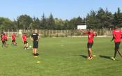 Тренировка на ЦСКА<strong> източник: cska.bg</strong>