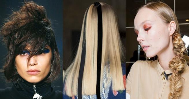 Прическата започва с подстригването, боядисването и поддръжката. Завършва с оформяне