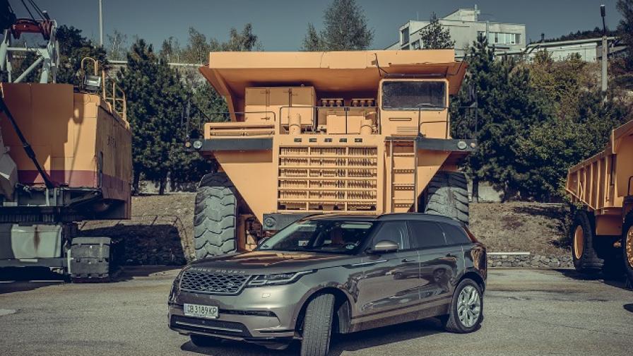 Range Rover Velar се класира директно за финала на най-престижния турнир (тест драйв)