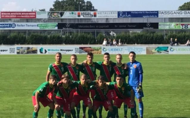 Юношески национален отбор /родени 2001 г./<strong> източник: bfunion.bg</strong>