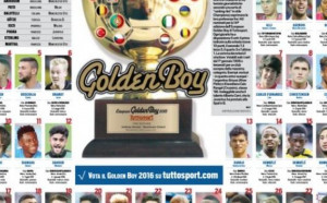 """Обявиха номинираните за приза """"Golden boy"""""""