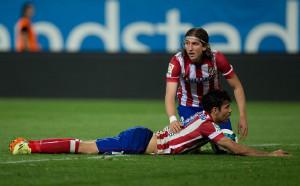 Филипе Луис: Диего Коста е в топ 3 на нападателите в света