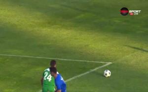 Верея води с 2:0 срещу Пирин
