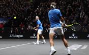 Рафаел Надал Роджър Федерер<strong> източник: BGNES</strong>
