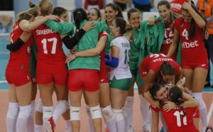 Волейболистките с героична победа над Турция на Европейското