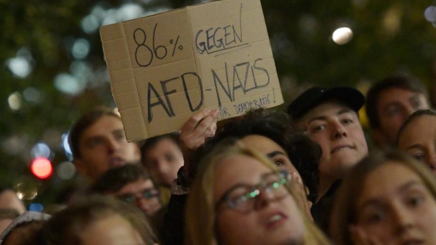 Протести заляха Германия след изборите
